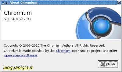 chromium su slackware