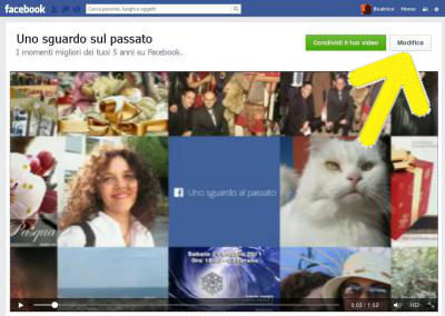 video: un passo al passato di facebook