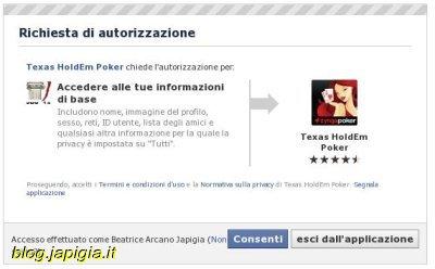 applicazioni facebook